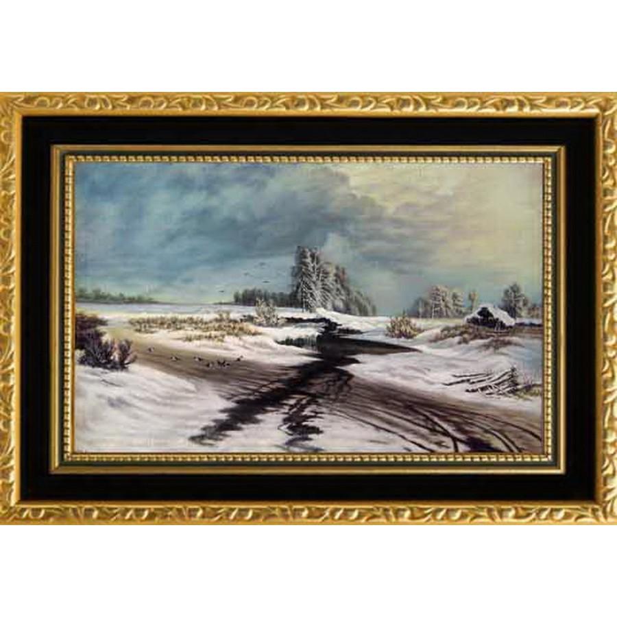 По мативам картины  «оттепель» Васильев Ф.А. (копия)