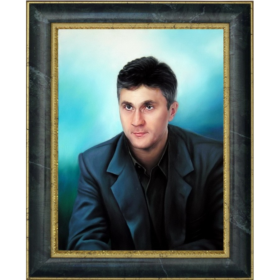 Мужской портрет маслом 12