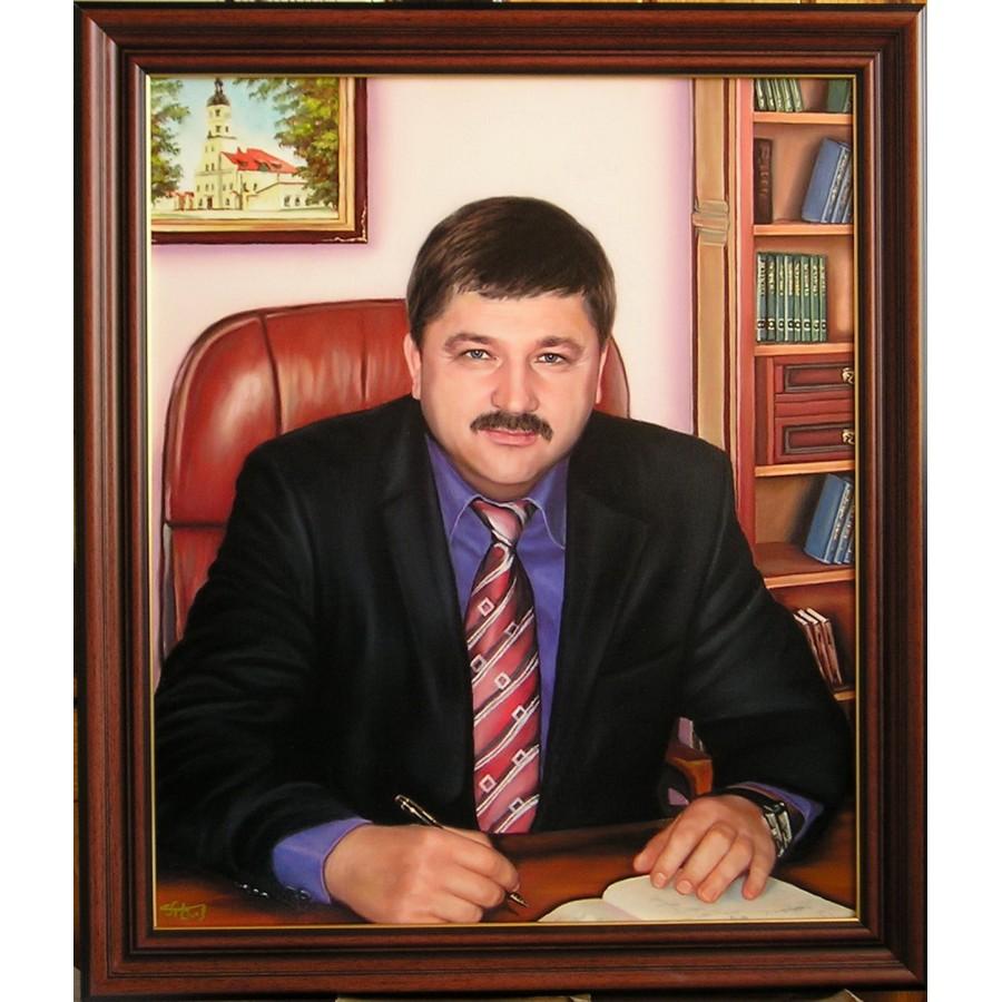 Портрет руководителя маслом 16