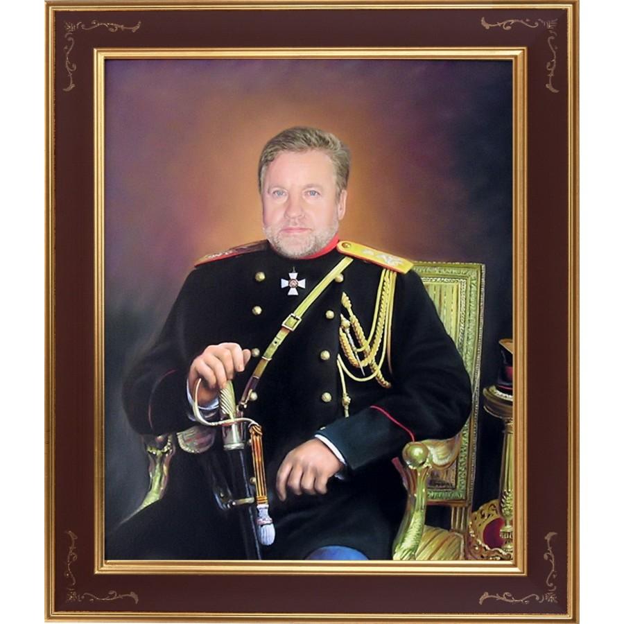 Мужской портрет в историческом костюме 13