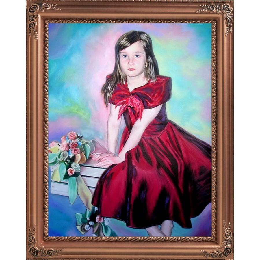 Детский портрет. Лиза