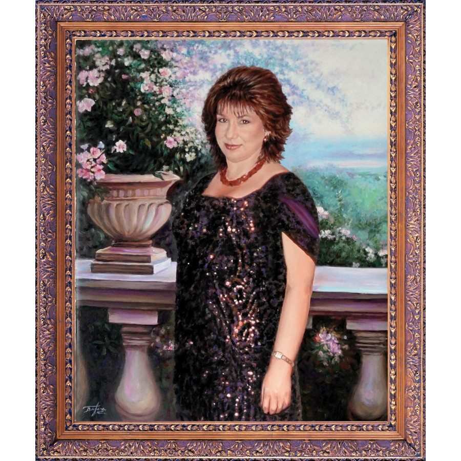 Женский портрет 51
