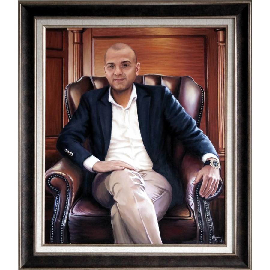 Мужской портрет в стиле Chesterfield  78