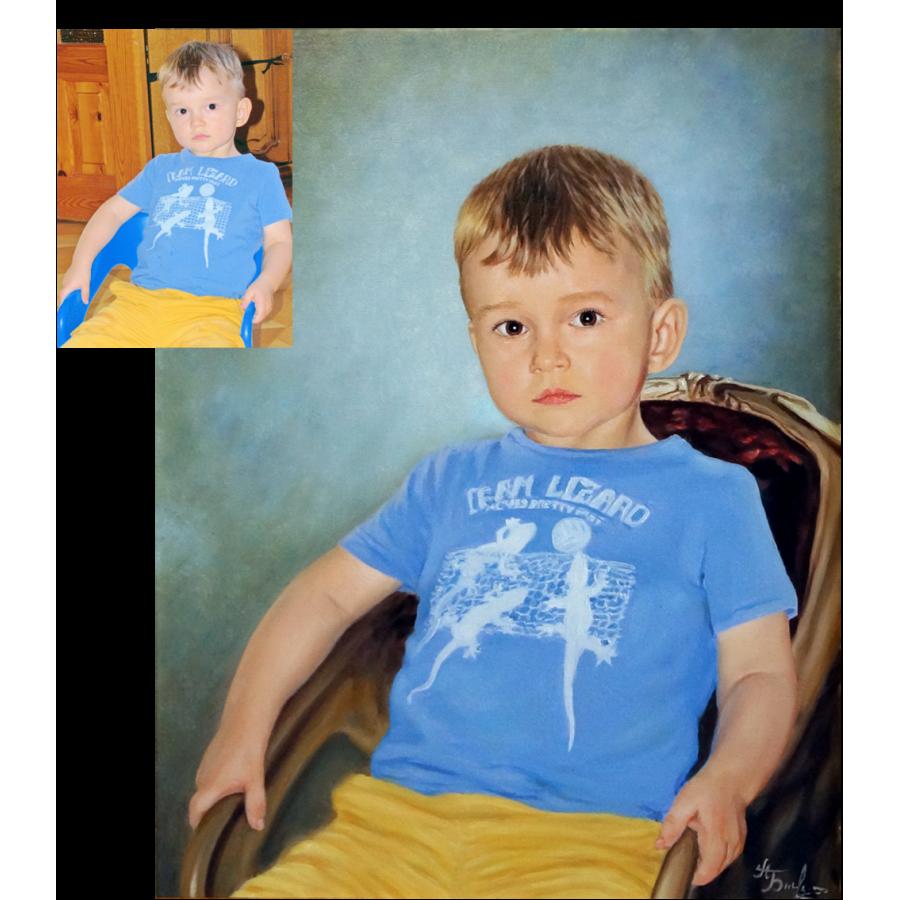 Портрет ребенка 10