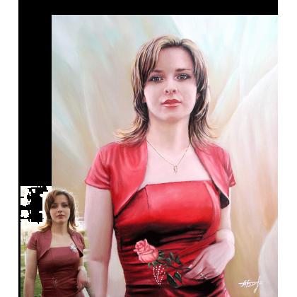 Портрет девушки 11