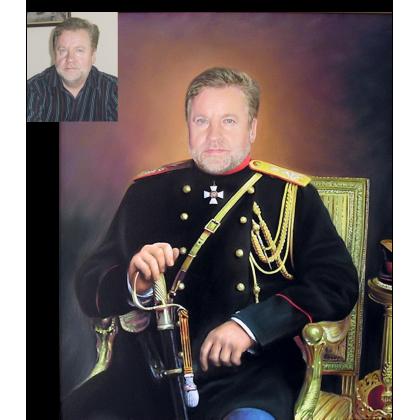 Мужской портрет в историческом костюме