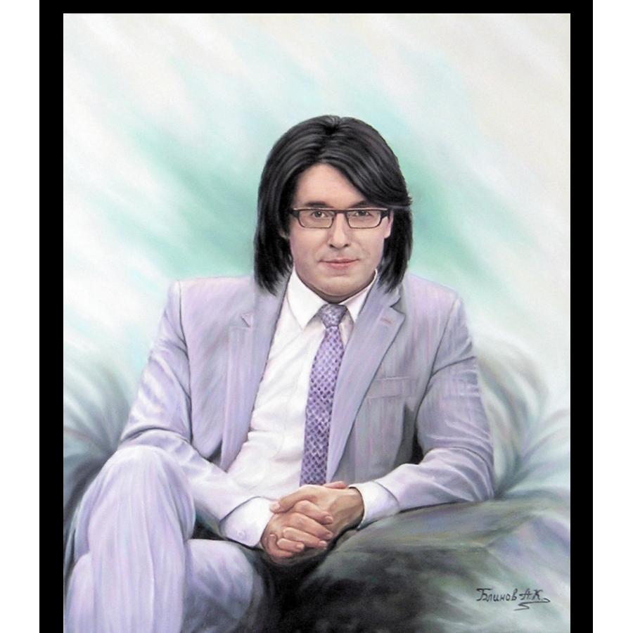 Андрей Малахов портрет маслом