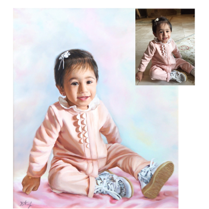 Детский портрет