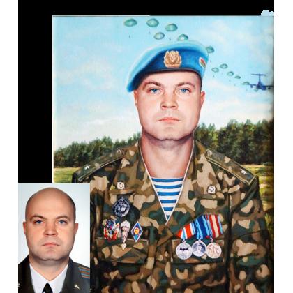 Портрет военного 25