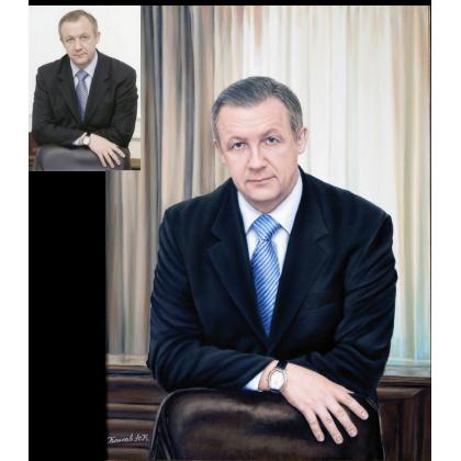 Мужской портрет маслом 27