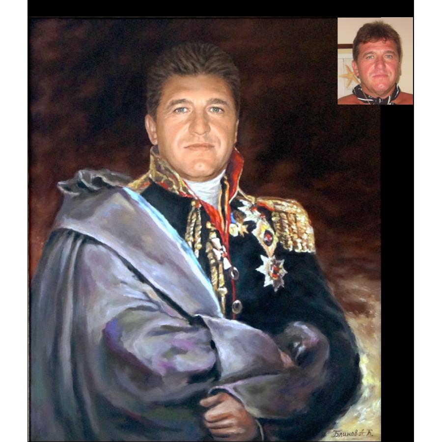 Портрет в историческом костюме 30