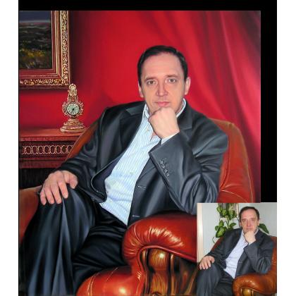 Портрет Игоря Блинова