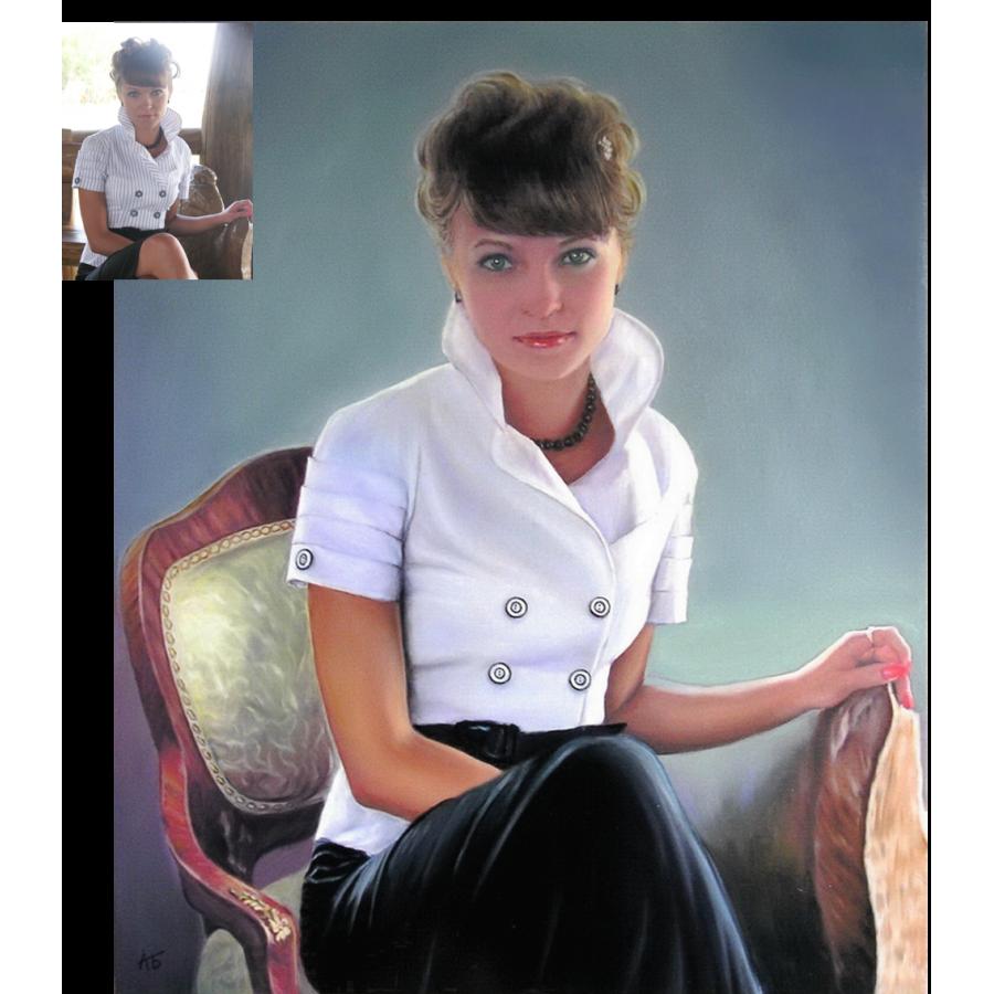 Женский портрет 40