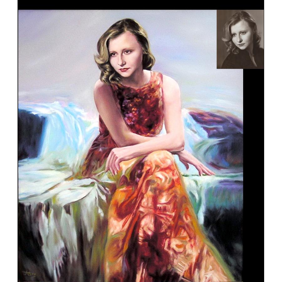 Женский портрет 52