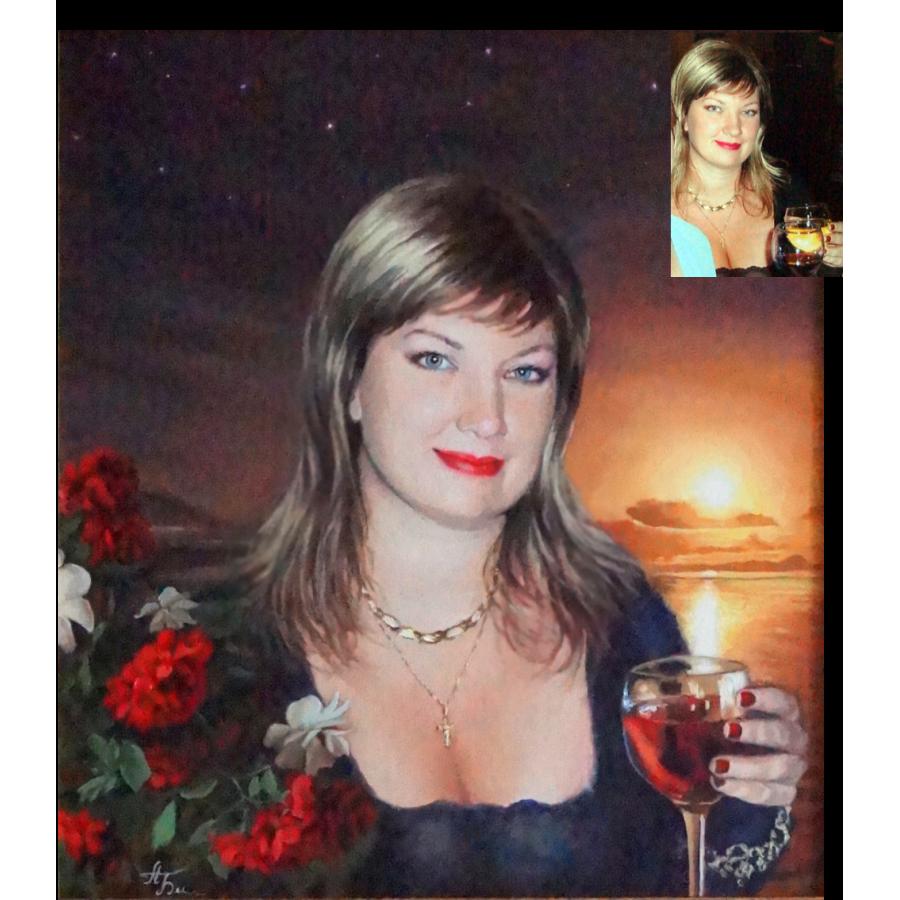 Женский портрет 54