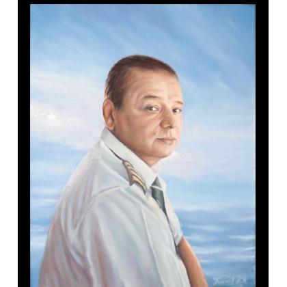 Портрет мужчины маслом 62