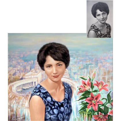 Женский портрет 70