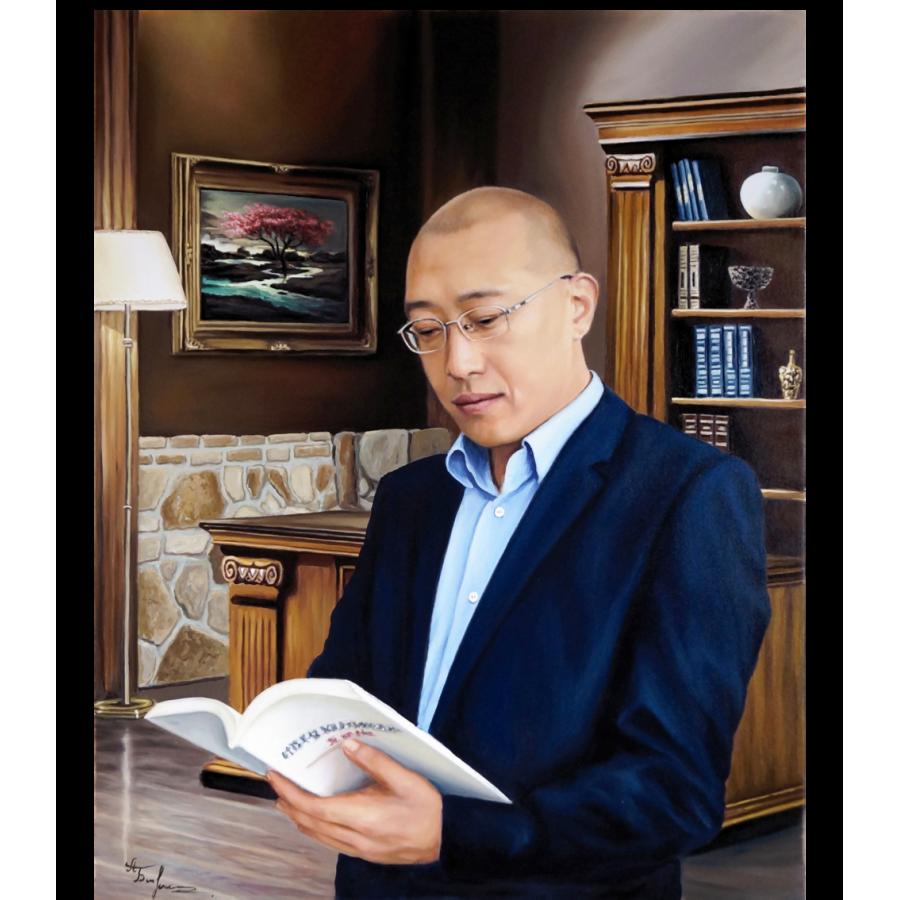 Мужской портрет в кабинете 82